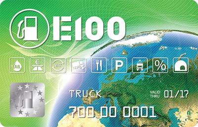 Топливные карты E100