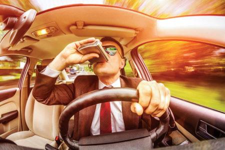 пьянство на дороге